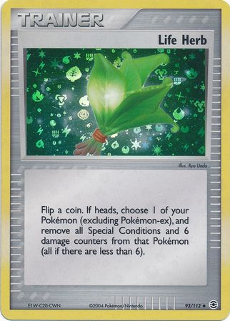 Life Herb (EX Fire Red Leaf Green Nintendo)