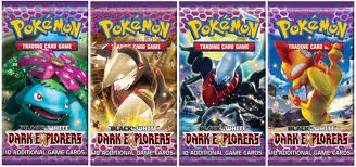 Pokemon Booster Pakke - Black & White: Dark Explorers Booster Pack *Sjælden*