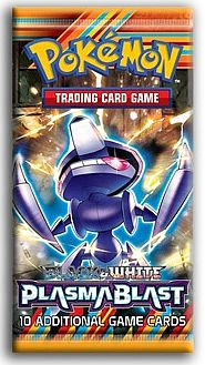Pokemon Booster Pakke - Black & White: Plasma Blast Booster Pack *Sjælden*