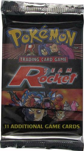Pokemon Booster Pakke - Team Rocket Booster Pack *Sjælden*