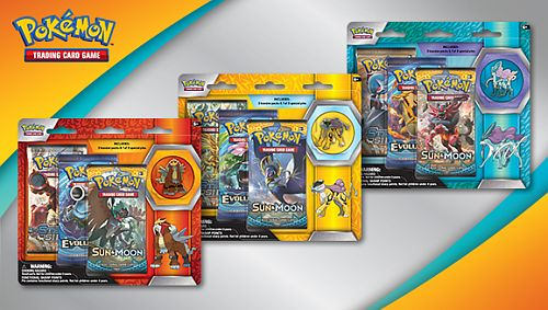 Pokemon Blister Pack - Legendary Beasts Collector Pin Blister Pack (Entei, Raikou, Suicune) - 3 Booster Pakker + Pin