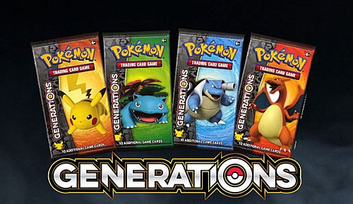 Pokemon Booster Pakke - Generations Booster Pack Bundle - 12 Boosters *Sjælden*