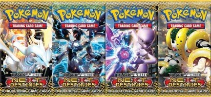 Pokemon Booster Pakke - Black & White: Next Destinies Booster Pack *Sjælden*