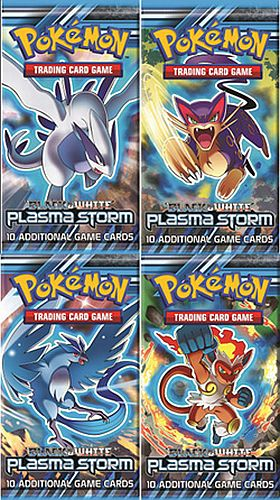 Pokemon Booster Pakke - Black & White: Plasma Storm Booster Pack