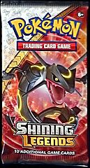 Pokemon Booster Pakke - Shining Legends Booster Pack Bundle - 10 Boosters