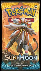 Pokemon Booster Pakke - Sun & Moon: Base Set Booster Pack