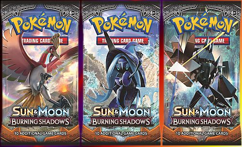 Pokemon Booster Pakke - SM03 - Sun & Moon: Burning Shadows Booster Pack