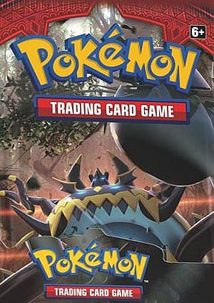 Pokemon Booster Pakke - Sun & Moon: Crimson Invasion Booster Pack