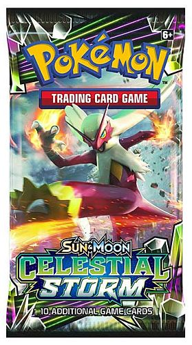 Pokemon Booster Pakke - Sun & Moon: Celestial Storm Booster Pack