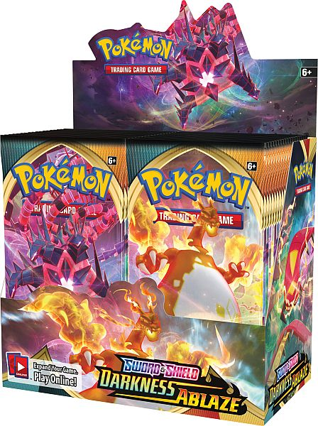 Pokemon Display (Booster Box) - SWSH03 - Sword & Shield: Darkness Ablaze - 36 Boosters