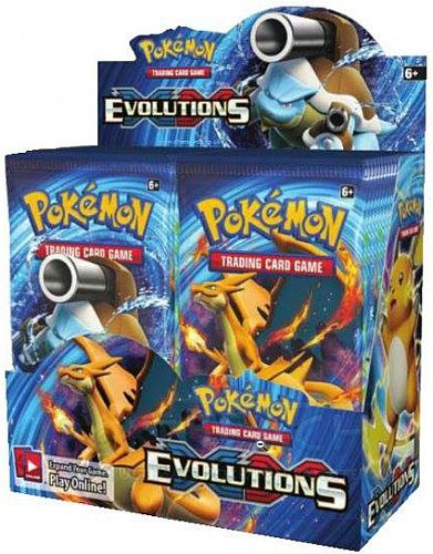 Pokemon Display (Booster Box) - XY12 - XY: Evolutions - 36 Boosters