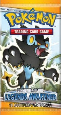 Pokemon Booster Pakke - D&P Legends Awakened Booster Pack - Diamond and Pearl *Sjælden*