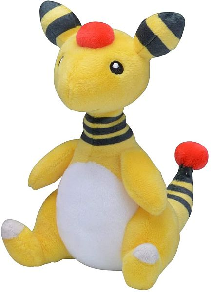 Pokemon - Ampharos Plush/Bamse 15cm *Top Kvalitet*