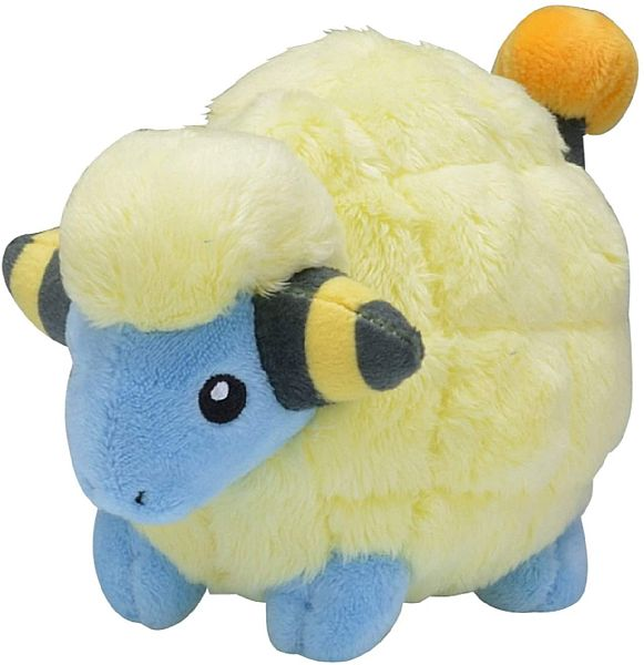 Pokemon - Mareep Plush/Bamse 12cm *Top Kvalitet*