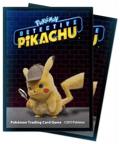 Pokemon - Detective Pikachu - Deck Protector - 65 lommer - Ultra Pro Sleeves #15201